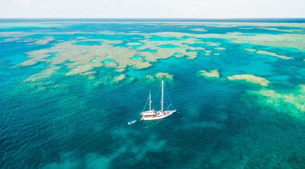 Enjoy some great moorings at the Outer Barrier Reef