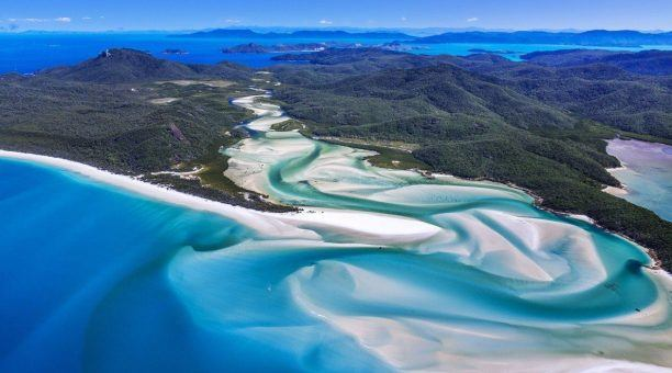 The swirling sands of Hill Inlet