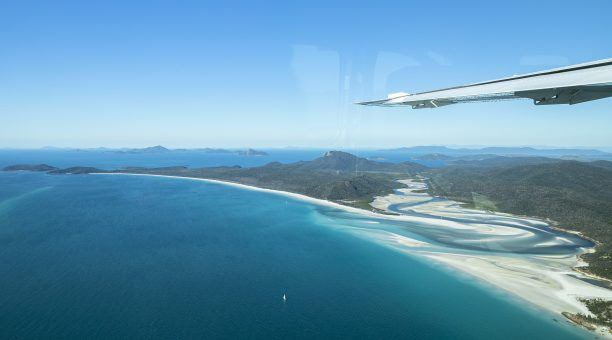 The View of the swirling sands at Hill Inlet