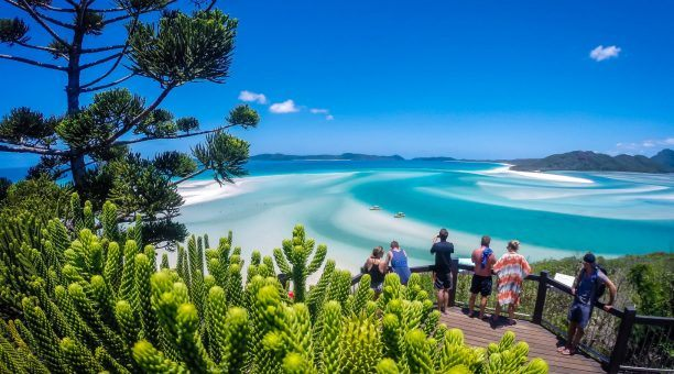 Enjoy the stunning views out over Hill Inlet from the Hill Inlet lookout