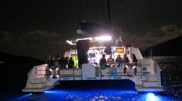 Night Sail in the Whitsunday