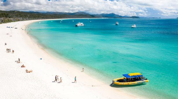 Plenty of time to explore the expansive stretch of Whitehaven Beach