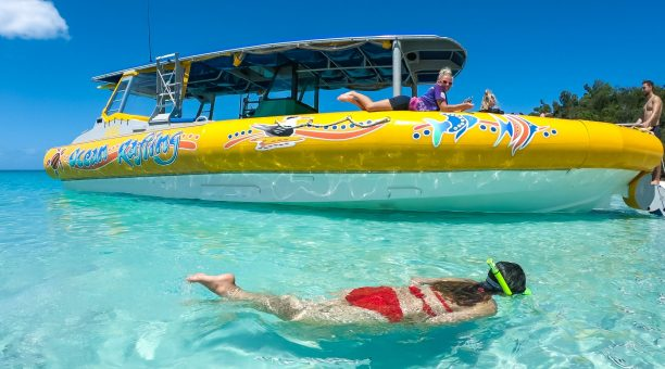 Relax at Whitehaven Beach, with a spot of Snorkelling